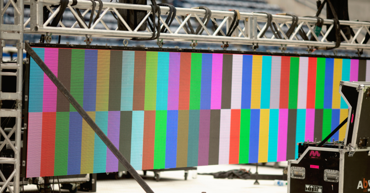 Read more about the article Illuminate Your Event with LED Video Walls